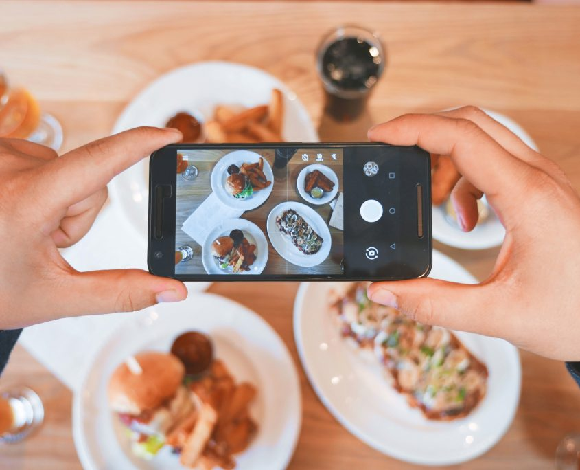 Customers taking pictures of your food and sharing it on social media is successful marketing.