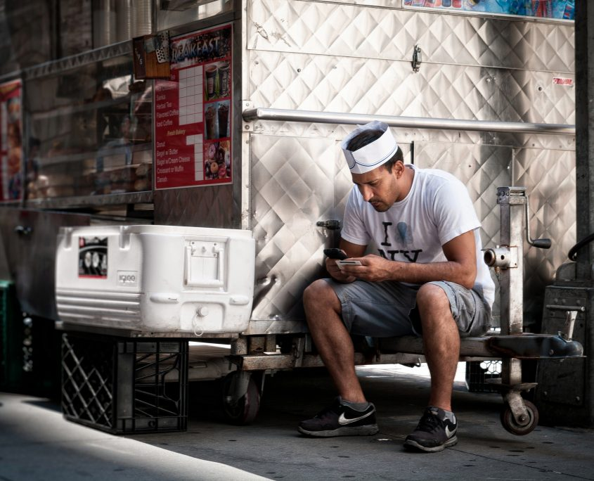 A work-life balance is important for a food truck business owner.